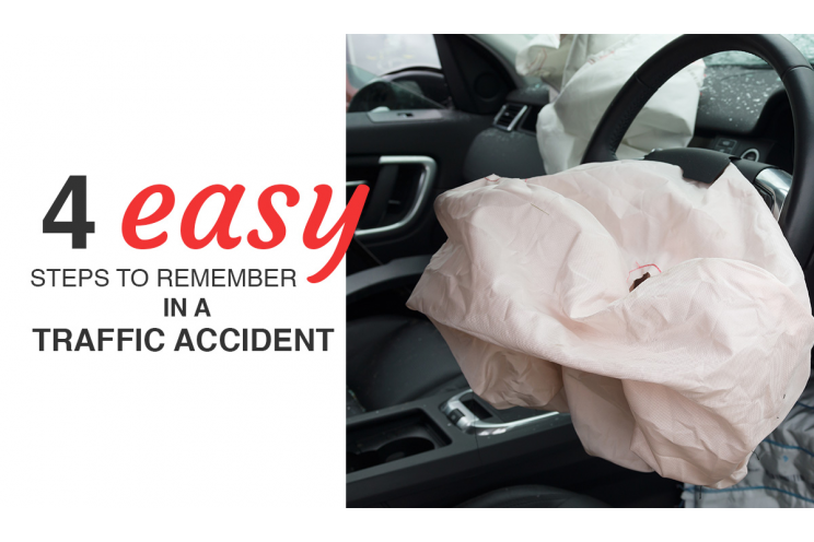 4 Easy Steps To Guide You In A Traffic Accident