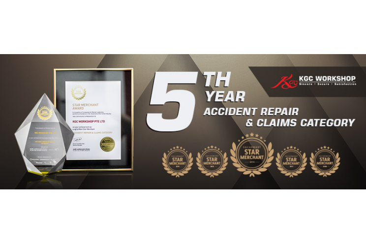 5th Consecutive Star Merchant Award from SgCarMart